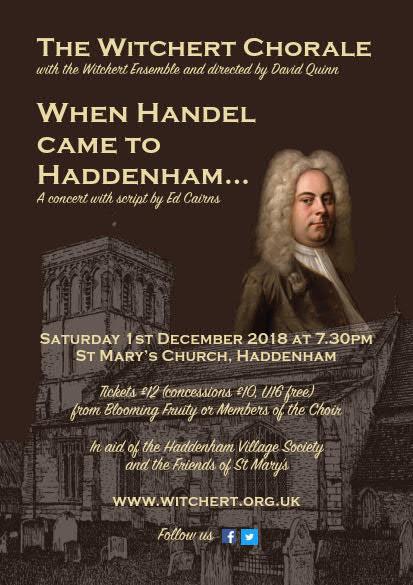 Poster for When Handel Came to Haddenham